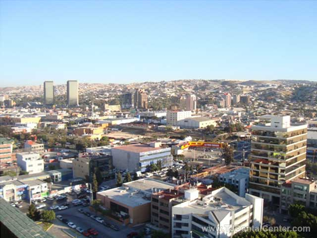 View of Tijuana City, Mexico